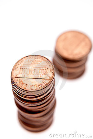 Free Pennies Stock Images - 3278134