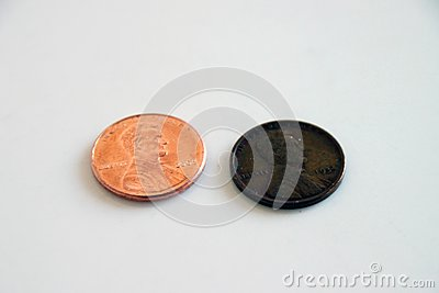 Pennies - old and new