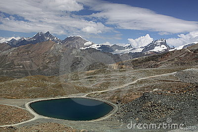 Pennine Alps scenery
