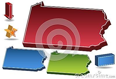 Pennsylvania 3D