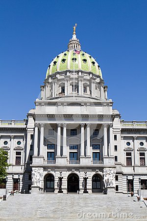 Free Pennsylvania Capitol Dome Stock Images - 25339344