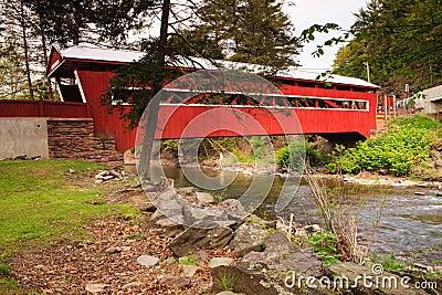 Pennsylvania Paden Red Covered Bridge