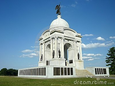 Pennsylvania Memorial on a Clear Day