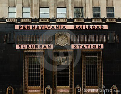 Pennsylvania Railroad - Suburban Station