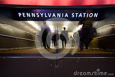 Pennsylvania Station NYC Editorial Image