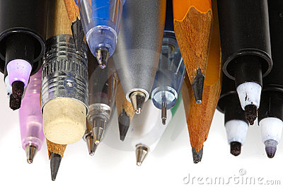 Pens and pencils 3