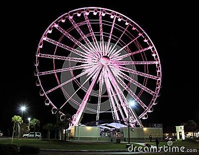 Pensacola Beach Ferris Wheel Editorial Image