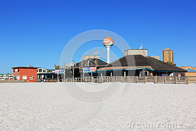 Pensacola Beachfront Editorial Image
