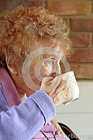 Pensioner teatime