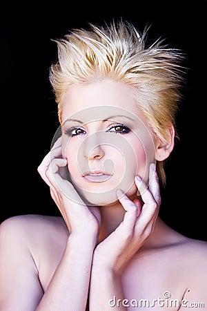 Free Pensive Blonde Stock Image - 7988551