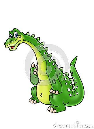 Pensive dinosaur