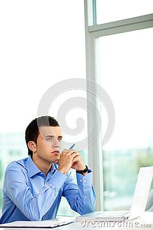 Pensive man
