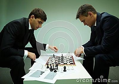 Pensive players