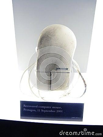Pentagon Mouse, USMC Museum Editorial Stock Image