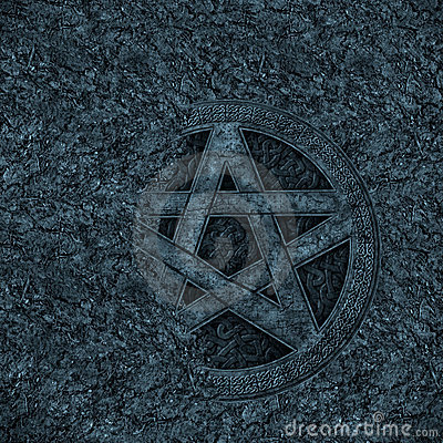 Pentagram background
