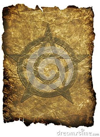 Pentagram Parchment