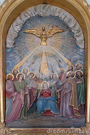 Free Pentecost, The Descent Of The Holy Spirit Stock Photo - 103534120