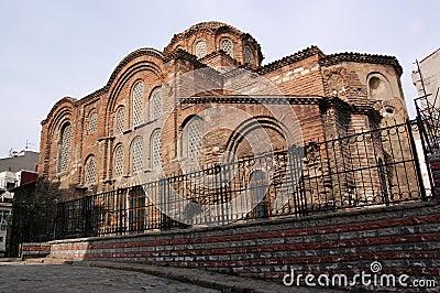 Pentepoptes Byzantine church, Istanbul