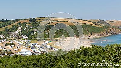 Pentewan Cornwall England Editorial Photography