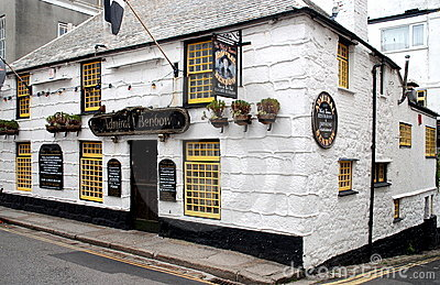 Penzance, England: Admiral Benbow Inn Editorial Image