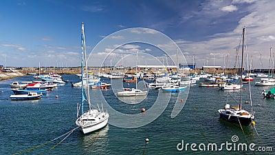 Penzance Harbour Cornwall England