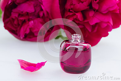 Peony flowers fragrance