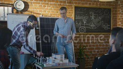 tech office alternative. People Collaborating On Alternative Manufacture Project Stock Footage -  Video Of Conference, Model: 117944566 Tech Office Alternative