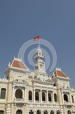 People commitee Saigon Vietnam Ho Chi Minh City