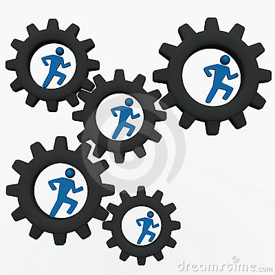 People corporate machinery