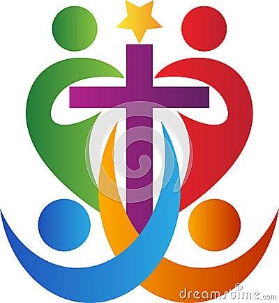 Free People Cross Stock Image - 43600351