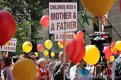 People demonstrate in Sydney Editorial Photo