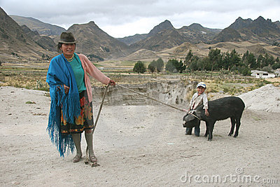 People of Ecuador Editorial Image