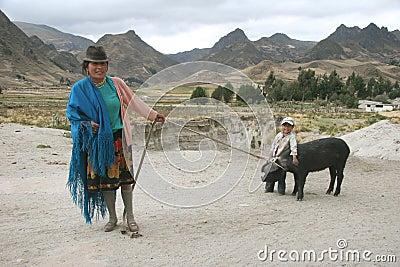 People of Ecuador Editorial Image