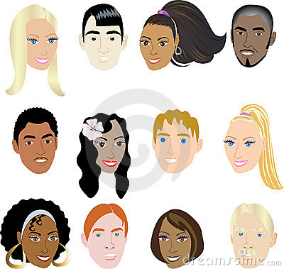 People Faces 2