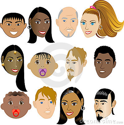 People Faces 4