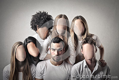 People without faces