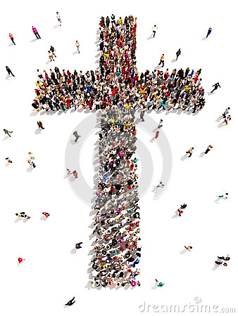 Free People Finding Christianity, Religion And Faith. Stock Images - 42510144
