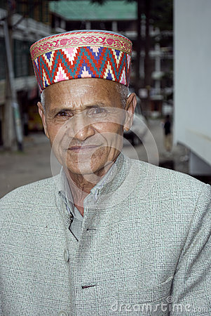 People of Himachal in India Editorial Stock Image