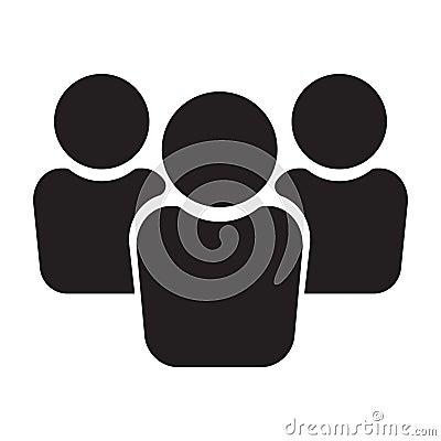 Free People Icon, Group Icon, Team Icon Royalty Free Stock Photos - 124245518
