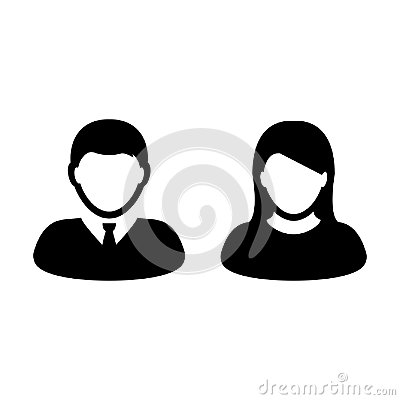 Free People Icon Vector Male And Female Person Profile Avatar Royalty Free Stock Photos - 102655318