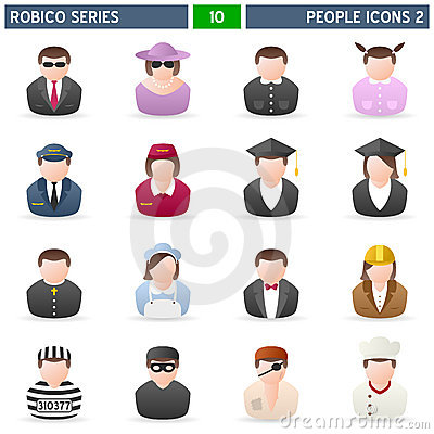 People Icons [2] - Robico Series