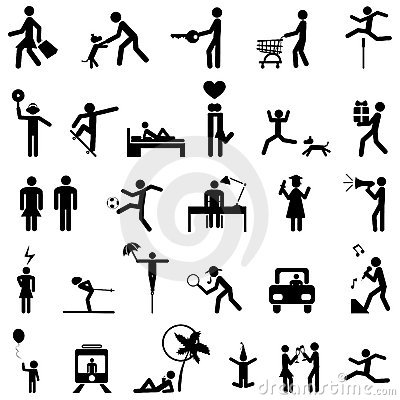 Free People Icons Vector Stock Photography - 8506992