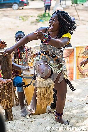 Free People In ANGOLA, LUANDA Royalty Free Stock Photo - 52164905