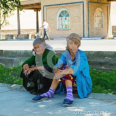 Free People In KHIVA, UZBEKISTAN Stock Image - 52098851