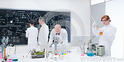 People laboratory analysis