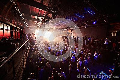 People look at Arma Music Hall Arash show Editorial Image