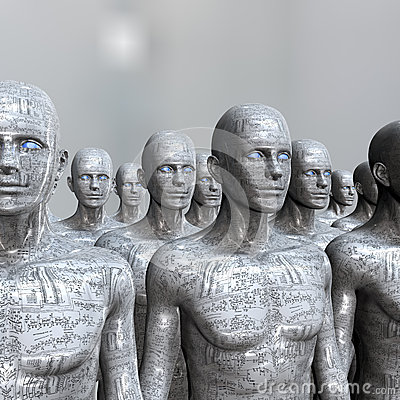 People machine - artificial intelligence.