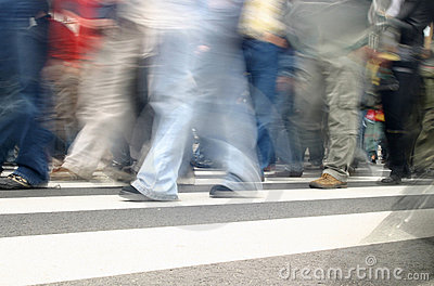 People In Motion Royalty Free Stock Photo - Image: 478345