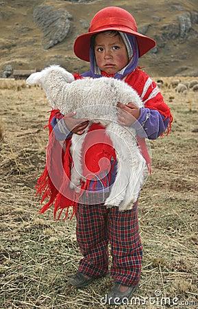 Free People Of Peru Royalty Free Stock Photos - 5909828