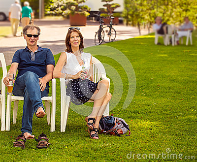 People in the park